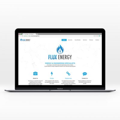 Flux Energy website feature