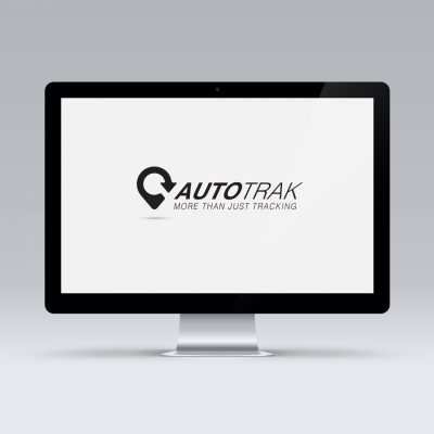 Autotrak logo desing