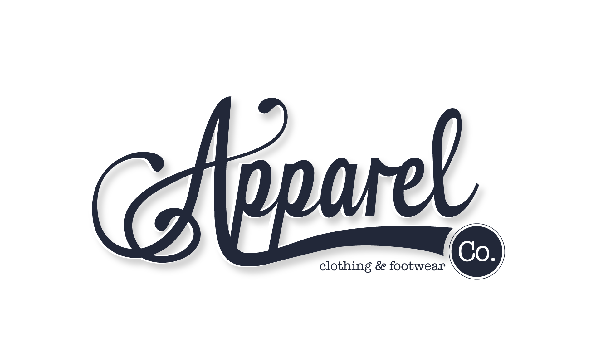 Apparel Co. logo design