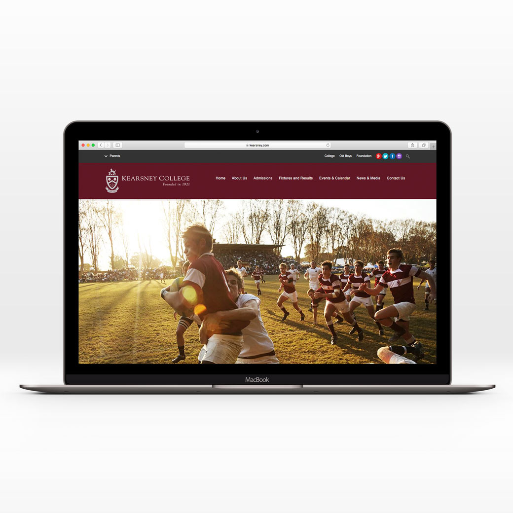 web development for kearsney college